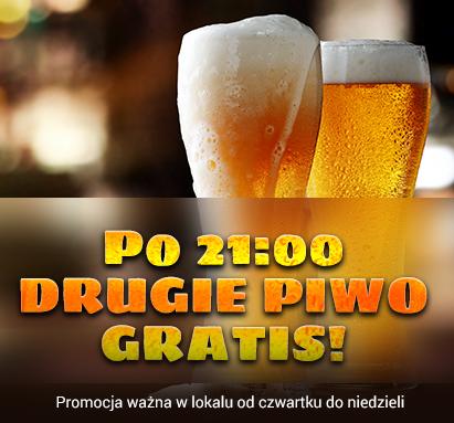 Drugie piwo gratis - promocja safir